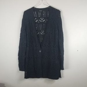 Lucky Brand Sweaters - Lucky Brand//Loose knit cardigan sweater sz M